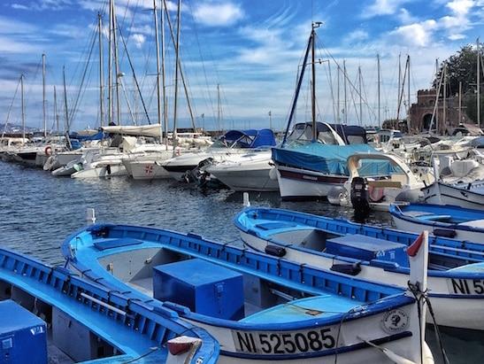 bateaux sur le port