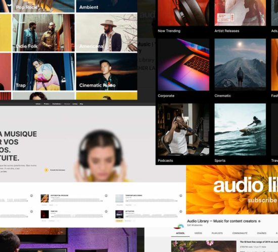 Musiques pour vos montages vidéos sites de référence