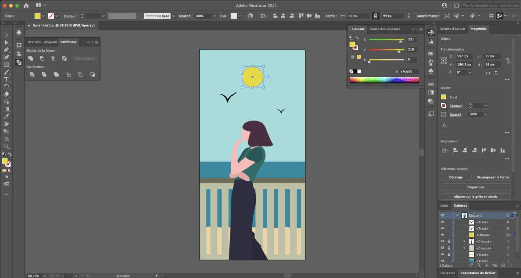 Suite Adobe - Illustrator
